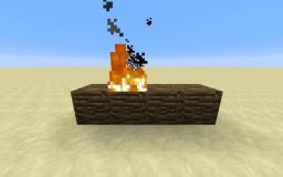 Realistic Wood Burn - Vanilla Minecraft Map & Project