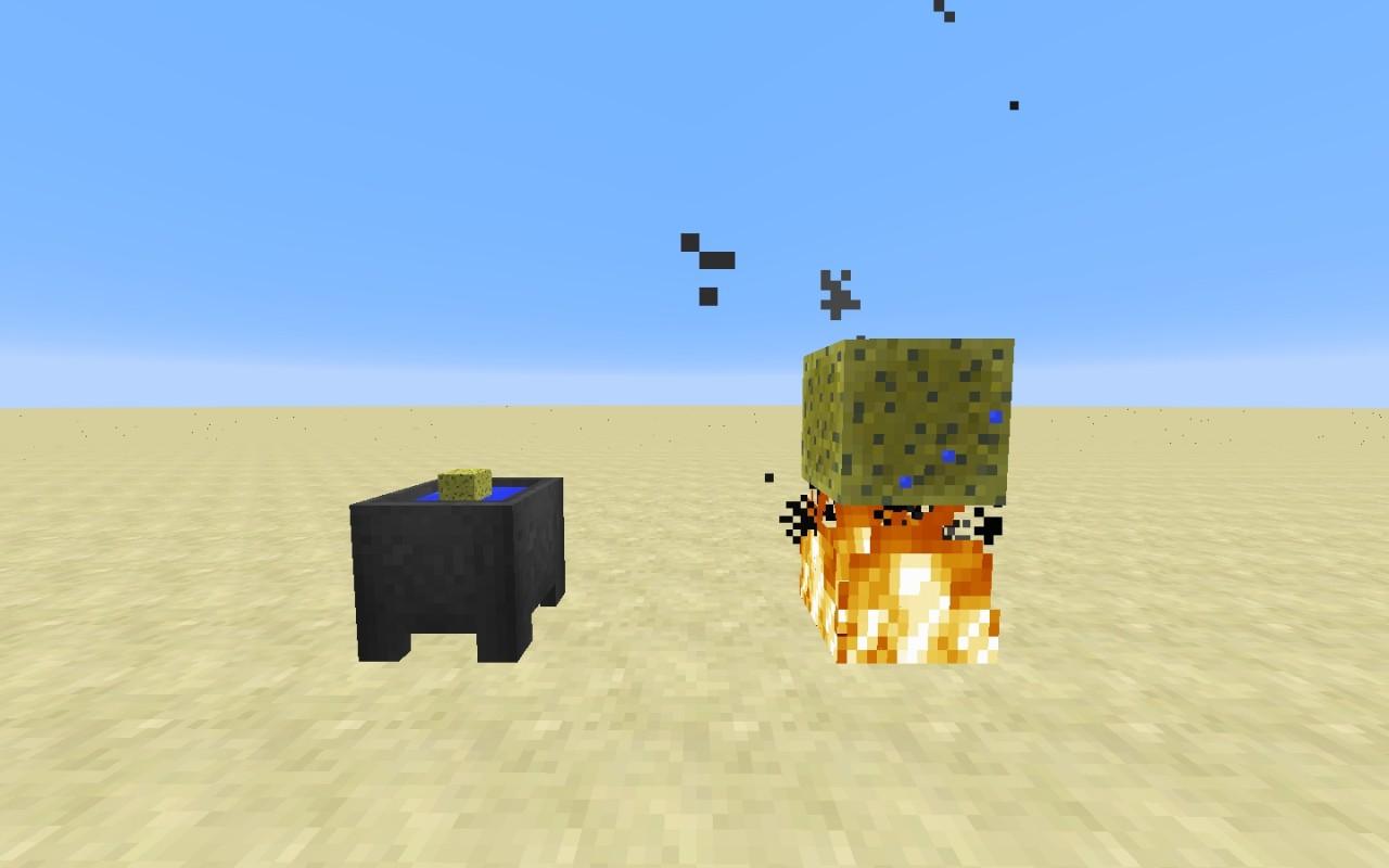 Water from wet sponges - Minecraft Forum