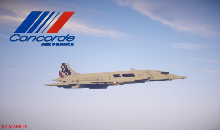 Air France CONCORDE In 1:1 Scale [Full Interior]