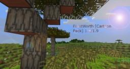 FrostWorth [16x16 Cartoon Pack] 1.8/1.9 Minecraft