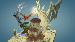 Sand monster with desert house Minecraft Project