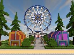 Minecraft build: Ferris wheel! Minecraft Map & Project