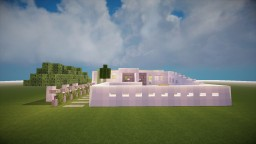 Smooth Modern House Minecraft Map & Project