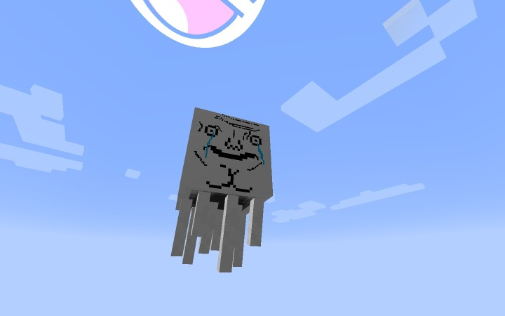 [1.8.1][128x] MemeCraft - me gusta! - текстуры мемы для minecraft