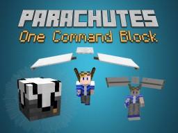 [1.9 Snapshots] Parachutes - One Command Block Vanilla Mod! Minecraft