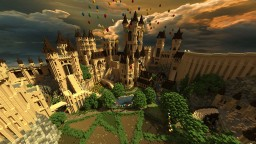 Castle themed PvP Map Minecraft
