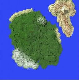 First worlpainter try Minecraft Map & Project