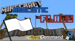 One Command Creation: Realistic Flags Minecraft Map & Project