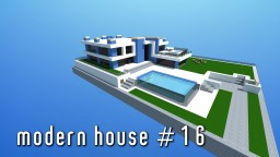 Modern House #16 | small & simple Minecraft Map & Project