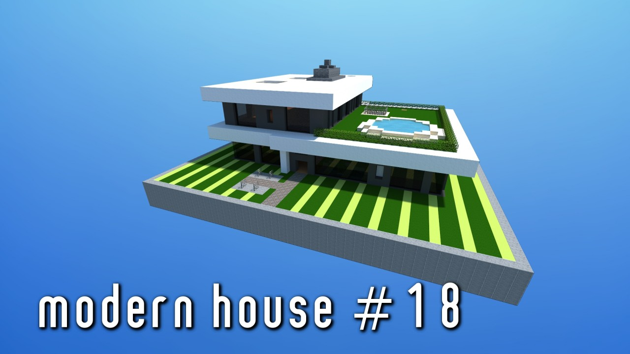 Modern House 18 Small Simple Minecraft Project