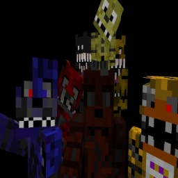 Five Nights at Freddy's 4 map Minecraft Map & Project