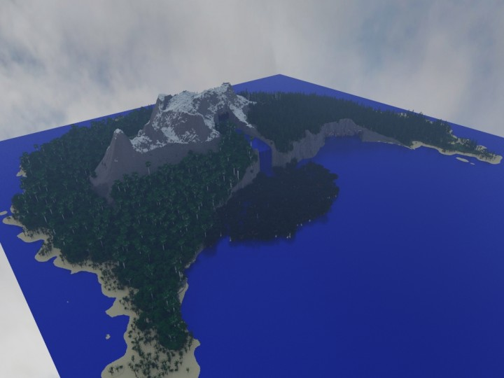 Asurs Island (With Resources & Custom Trees) (1.8+) Minecraft Project