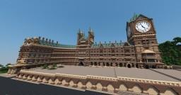 St. Pancras | Kingscross Station Minecraft Map & Project