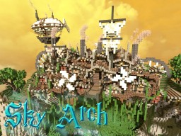 [MythiCubeMMO]: The Sky Arch, Dwarven Fortress! Minecraft Map & Project