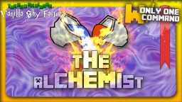 The Alchemist - A vanilla minecraft agrarian  skies with only 2 command blocks Minecraft