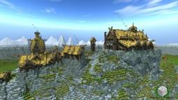 Thereawakens ~ Edoras Hillcastle ~ Timelapse Minecraft