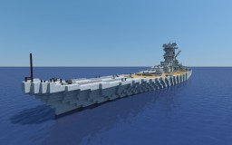 IJN Yamato 1:1 Minecraft Map & Project