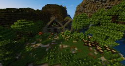 ~ Medieval Home -With Terrain- ~ Minecraft