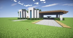 Small Modern House Design - Minecraft Build Minecraft Map & Project