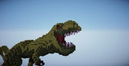 T-Rex Organic Minecraft Project