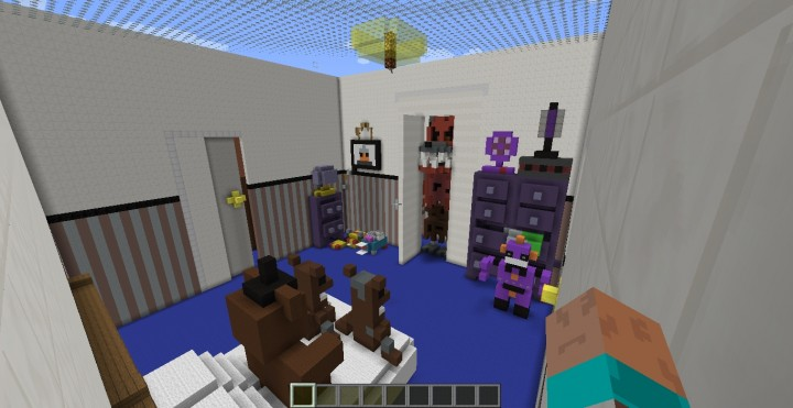 Fnaf 4 Hiden and Seek Minecraft Project