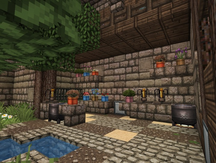 how to build a brewery in minecraft