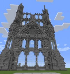 Unfinished work of art! Minecraft