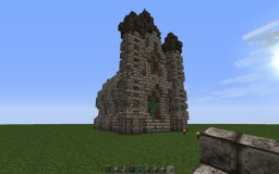 Detailed mediaval church Minecraft Project