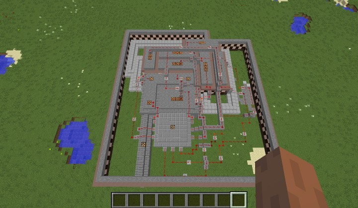 fnaf 3 map minecraft project