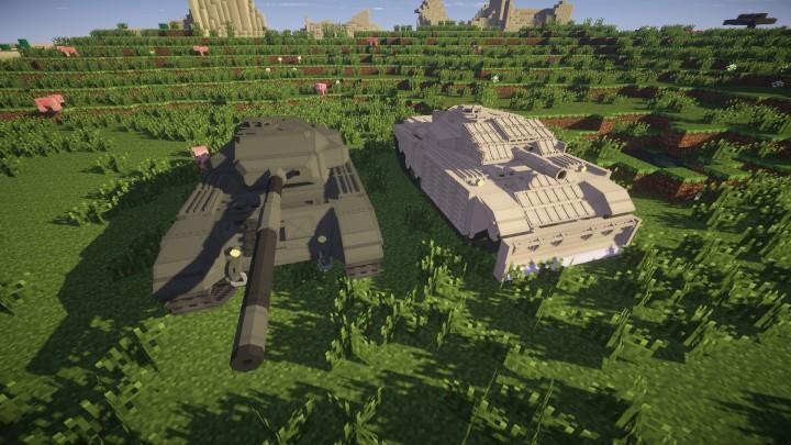 Centurion mk52 and AVRE