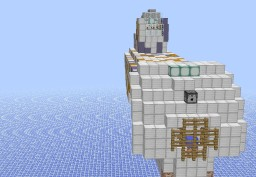 Hanlon-Class Corvette Minecraft Map & Project