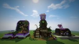 Small Treehouses Minecraft Map & Project