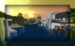 Modern aquarium Minecraft Map & Project