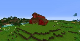 Horse Stable Barn Minecraft Map & Project