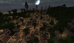 The Jungle's Edge City Minecraft Map & Project