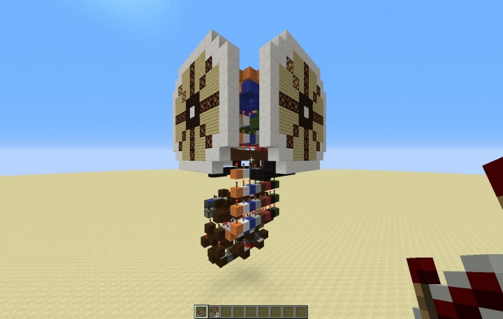 . Build your own working clocktower Minecraft Project