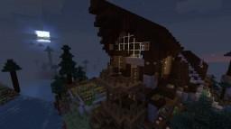 Mountain Home, Survival Built Minecraft