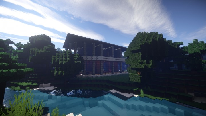 House 21 post modern house minecraft project for Post modern house