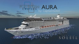 AURA ~ a Custom Cruise Ship {Full Interior + Download} Minecraft Project