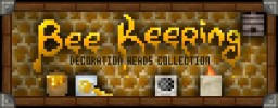 """Bee Keeping Collection"" Decoration Player Heads + Schematic Minecraft"