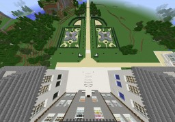 Belton Manor (Part 2): The formal Gardens Minecraft Map & Project