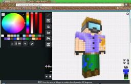 How to make a [Simple] Skin! Minecraft