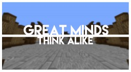 Great Minds Think Alike | Co-op Puzzle Map | Minecraft 1.8! Minecraft