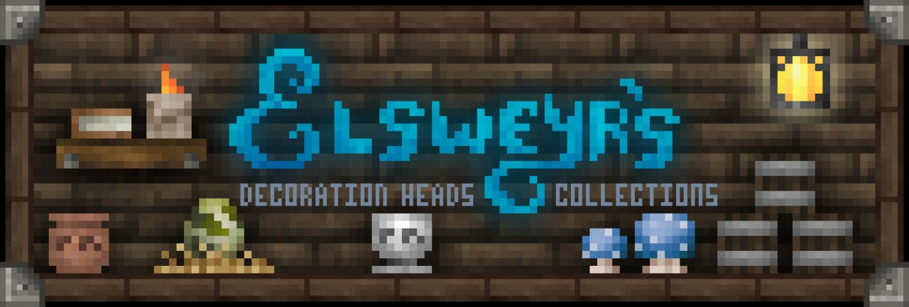 Elsweyr 39 s decoration heads collections 240 heads minecraft blog - Minecraft head decoration ...