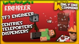 Team Fortress 2 Engineer's machines | Turrets, teleporters & dispensers with only one command block Minecraft Map & Project