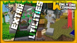 Extra utilities with only one command block | Graves, solar panels & more! Minecraft Project