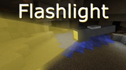 [v.1.0] Flashlight mod - portable dynamic light-source (Forge) Minecraft Mod