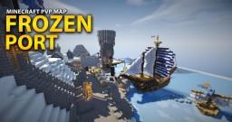 """Frozen Port - Hide and Seek/Block Hunt Map"" By Alpaka Minecraft Map & Project"