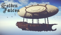 [Golden Falcon] Airship made by soony753 Minecraft Map & Project