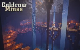 Goldrow Mines[Underground server spawn] made by soony753 Minecraft Map & Project